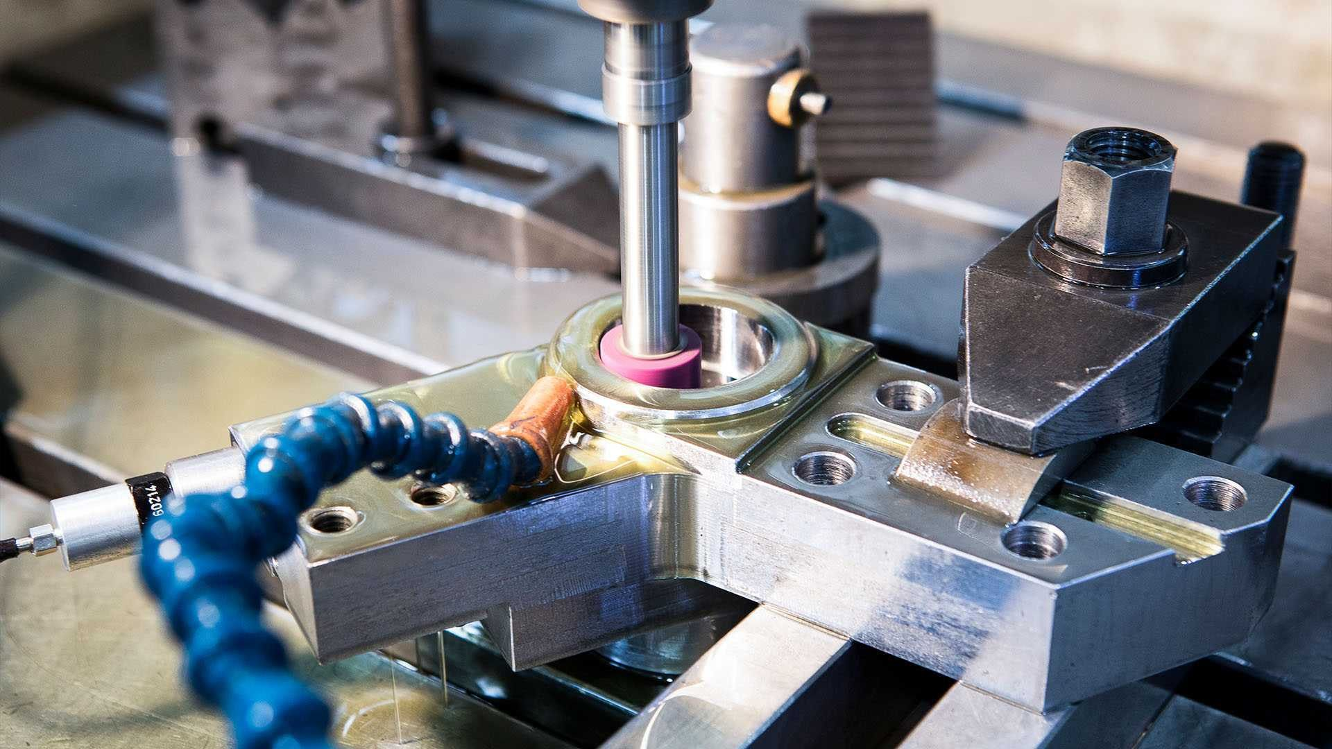 Manufacture of machinery parts