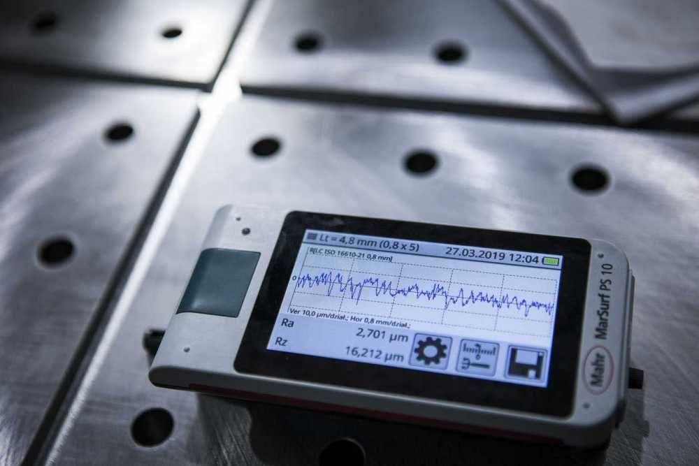 Pomiar chropowatosci powierzchni