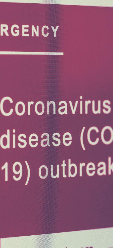 Koronowirus pionowo